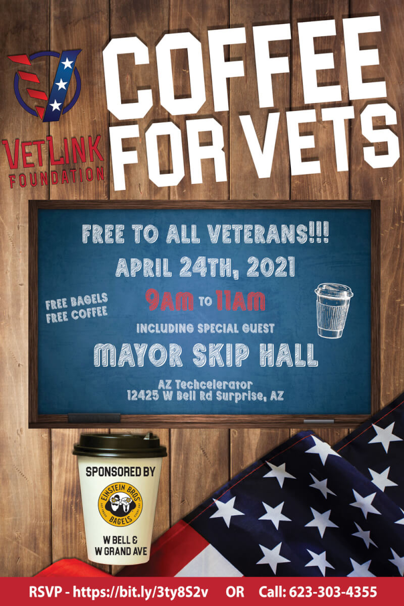 Coffee For Vets April 24, 2021