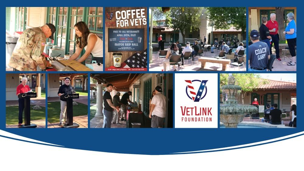 Coffee for Vets April Meeting