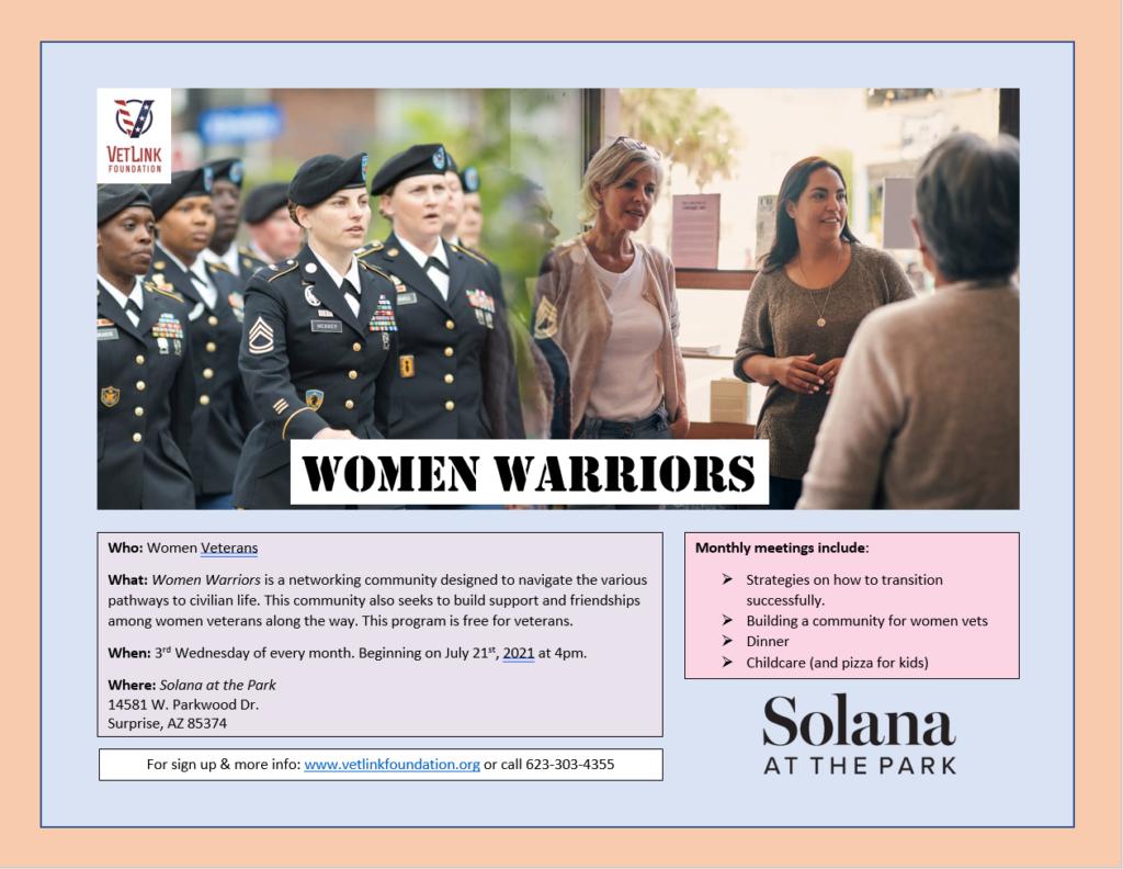 Women Warriors Flyer