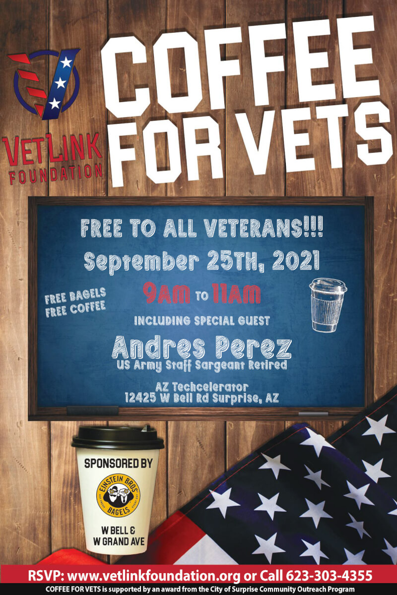 Coffee for Vets with Andres Perez